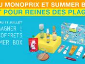 Summer Box Monoprix