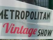 Metropolitan Vintage Show Lille
