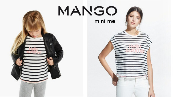 robe mini me mango
