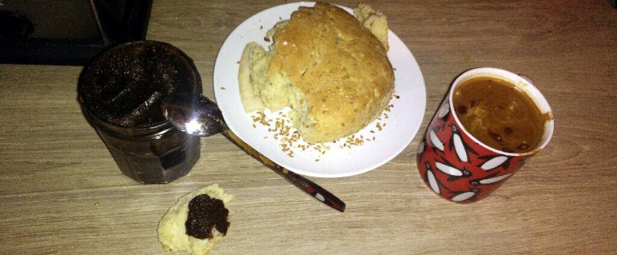 pain maison aux graines de lin