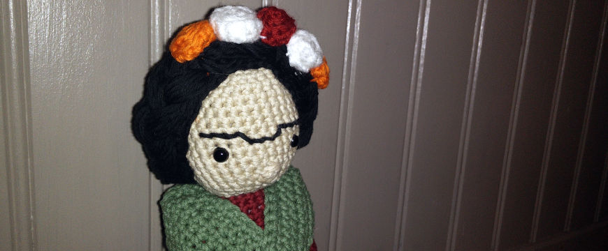 Frida Kahlo crochet