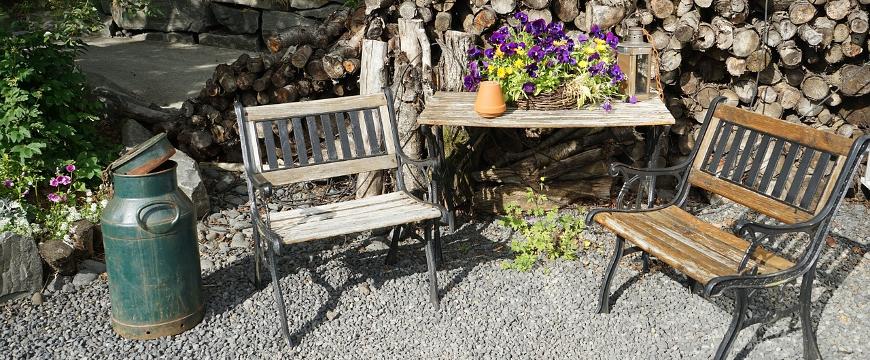 mobilier de jardin pas cher