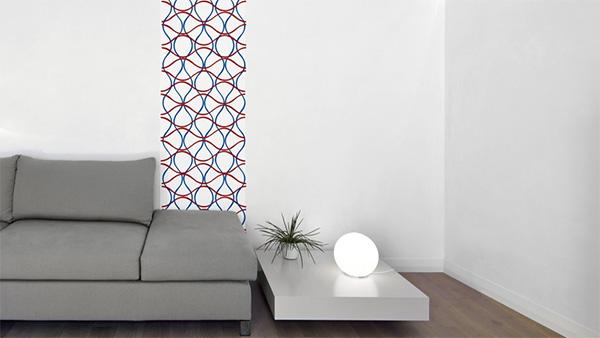 d co le papier peint autocollant mademoiselle farfalle. Black Bedroom Furniture Sets. Home Design Ideas