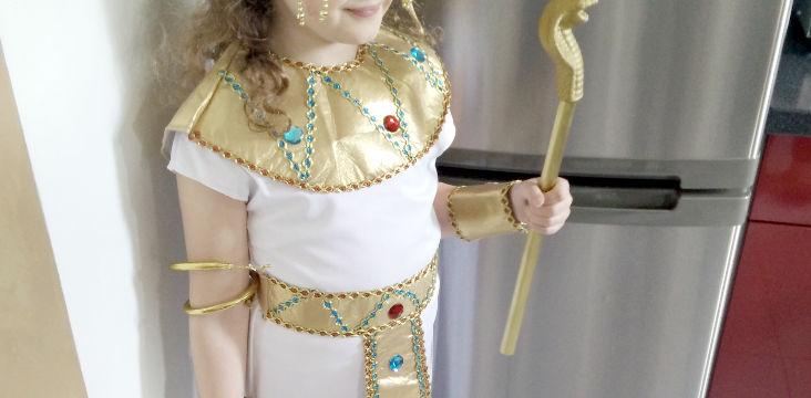déguisement d'Égyptienne