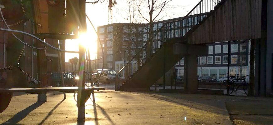 au parc sous le soleil