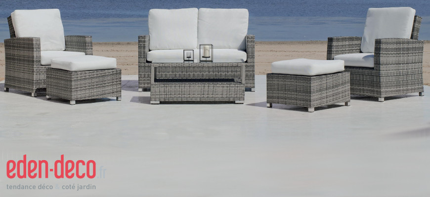 d co donner un coup de jeune sa terrasse avec eden. Black Bedroom Furniture Sets. Home Design Ideas