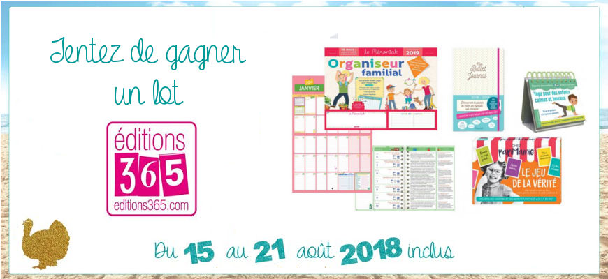 concours Editions 365