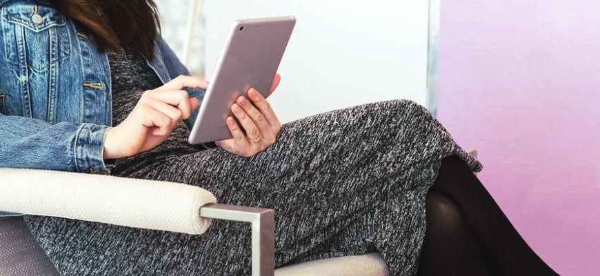 lecture sur tablette
