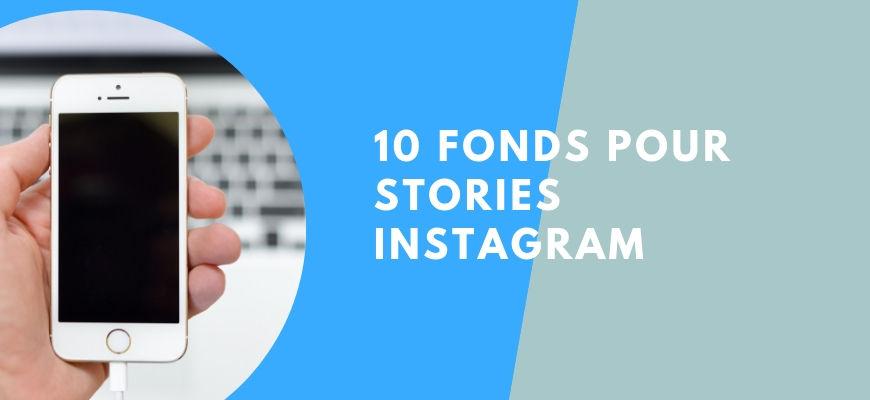 Fond Instagram story à télécharger