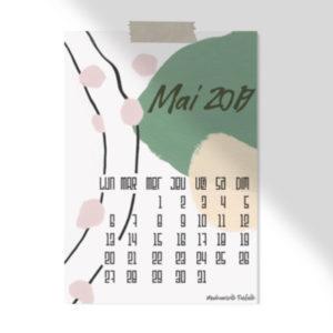 calendrier de mai 2019 à télécharger