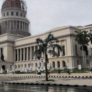 La Havane sous la pluie
