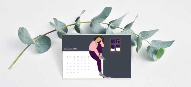 calendrier de septembre 2020