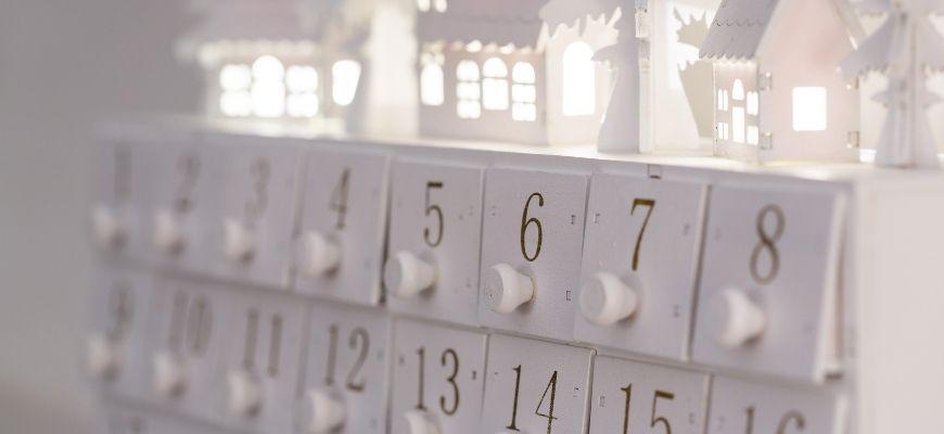 calendrier de l'Avent zéro déchet.