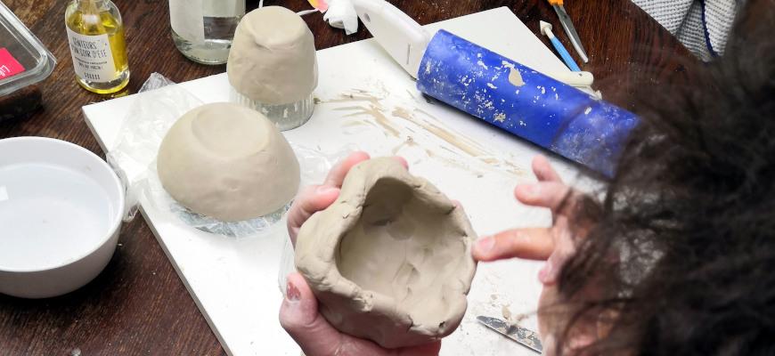 poterie en famille