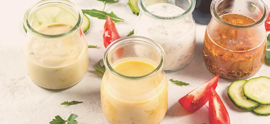 sauce salade healthy