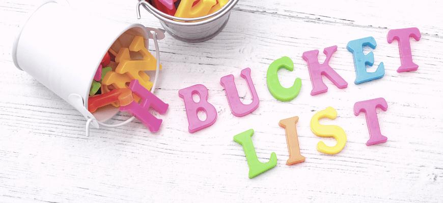 bucket list 40 ans